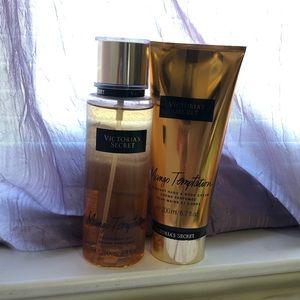 VS Body Spray and Lotion